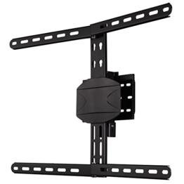 Hama Curved TV Wandhalterung (für extragroße Fernseher, Wandhalter geeignet für 32 - 90 Zoll, 81 - 229 cm Diagonale, max. 50 kg, VESA 200 x 200 bis 600 x 400) schwarz - 1