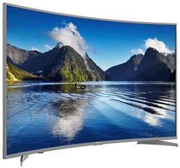 Hisense H55MEC5650 140 cm (55 Zoll) Curved Fernseher (Ultra HD, Triple Tuner, Smart TV) - 1