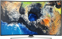 Samsung MU6279 138 cm (55 Zoll) Curved Fernseher (Ultra HD, HDR, Triple Tuner, Smart TV) - 1