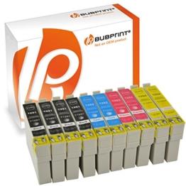 10 Bubprint® Druckerpatronen kompatibel für Epson T1291 - T1294 EPSON STYLUS OFFICE BX 305 F , BX 320 FW , BX 525 WD , BX 625 FWD EPSON STYLUS SX 420 W , SX 525 WD , SX 620 FW - 1