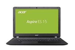 Acer Aspire ES 15 ES1-523-81GW 39,6 cm (15,6 Zoll, Full-HD, matt) Notebook (AMD A8-7410, 8GB RAM, 256GB SSD, Radeon R5, Win 10) schwarz - 1