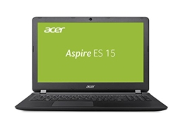 Acer Aspire ES 15 (ES1-523-8564) 39,6 cm (15,6 Zoll HD matt) Notebook (AMD A8-7410, 4GB RAM, 1000GB HDD, AMD Radeon R5, USB 3.0, HDMI, Win 10) schwarz - 1