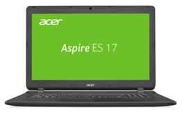 Acer Aspire ES 17 (ES1-732-P6JW) 43,9 cm (17,3 Zoll HD+) Notebook (Intel Pentium N4200, 4GB RAM, 500GB HDD, Intel HD, Linux) schwarz - 1