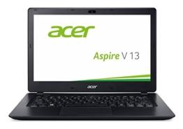 Acer Aspire V 13 (V3-372-57CW) 33,8 cm (13,3 Zoll Full HD IPS) Notebook (Intel Core i5-6267U, 8GB, 256GB SSD, Intel Iris Graphics 550, Win 10 Home) schwarz - 1