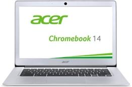 Acer Chromebook 14 CB3-431-C6UD 35,6 cm (14 Zoll Full HD IPS matt) Notebook (Intel Celeron N3160, 4GB RAM, 32GB eMMC, Intel HD Graphics, Google Chrome OS) silber - 1