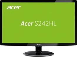 Acer S242HLDBID 60,1 cm (24 Zoll) Monitor (VGA, DVI, HDMI, 1ms Reaktionszeit) schwarz - 1