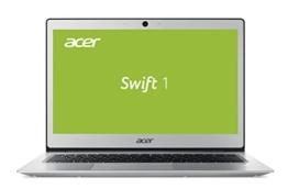 Acer Swift 1 (SF113-31-P2CP) 33,8 cm (13,3 Zoll Full-HD IPS matt) Ultrabook (Intel Pentium N4200, 4 GB RAM, 256 GB SSD, Intel HD, ac-WLAN, HDMI, USB 3.1, Bluetooth 4.0, Win 10 Home) silber - 1