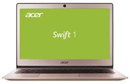 Acer Swift 1 (SF113-31-P4A2) 33,8 cm (13,3 Zoll Full-HD IPS matt) Ultrabook (Intel Pentium N4200, 4 GB RAM, 256 GB SSD, Intel HD, ac-WLAN, HDMI, USB 3.1, Bluetooth 4.0, Win 10 Home) pink - 1