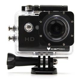 Action Cam,icefox® FHD Unterwasserkamera, 12MP, 1080P, Wasserdichte HD Kamera mit 170° Weitwinkel,900mAh Akku und Zubehör Kitt für zum Tauchen, zumFahrrad fahren, zum Motorrad fahren und zum Schwimmen - 1