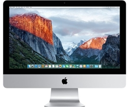 Apple iMac MK442D/A 54,6 cm (21,5 Zoll) Desktop-PC (Intel Core i5 5575R, 8GB RAM, 1TB HDD, Intel Iris Pro 6200, Mac OS) - 1
