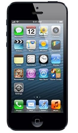 Apple iPhone 5 Schwarz 16GB Smartphone (Zertifiziert und Generalüberholt) - 1