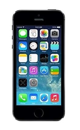 Apple iPhone 5S Space Grau 16GB SIM-Free Smartphone (Zertifiziert und Generalüberholt) - 1