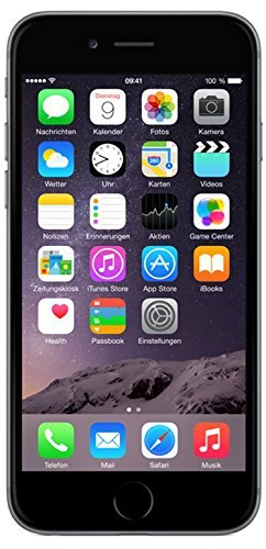 Apple iPhone 6 Smartphone (4,7 Zoll (11,9 cm) Touch-Display, 32 GB Speicher, iOS 8) grau - 1