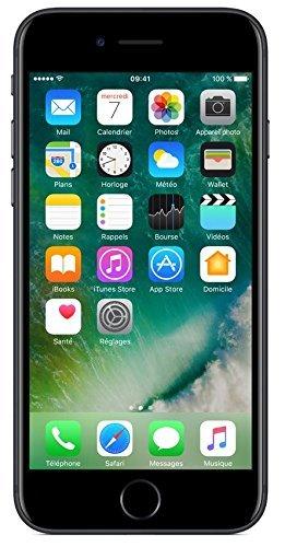 Apple iPhone 7 SIM-Free Smartphone Matt Schwarz 32GB (Zertifiziert und Generalüberholt) - 1