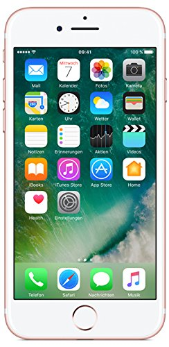 Apple iPhone 7 Smartphone (11,9 cm (4,7 Zoll), 32GB interner Speicher, iOS 10) rose-gold - 1