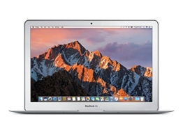 Apple MMGF2LL/A 33,7 cm (13,3 Zoll) MacBook Air (Intel Core i5 1.6GHz, 128GB Flash, 8GB RAM, Intel HD Graphics 6000 Grafikkarte, MAC OS) grau - 1