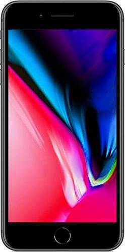 Apple MQ8L2ZD/A iPhone 8 Plus 13,94 cm (5,5 Zoll), (64GB, 12MP Kamera, Auflösung 1920 x 1080 Pixel) Space Grau - 1
