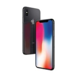 Apple MQAF2ZD/A iPhone X 14,7 cm (5,8 Zoll), (256GB, 12MP Kamera, Auflösung 2436 x 1125 Pixel) Space Grau - 1