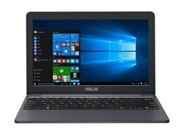 Asus E203NA-FD029T 29,4 cm (11,6 Zoll) Notebook (Intel Celeron N3350, 32GB eMMC, 4GB RAM, Intel HD Grafik, Win 10 Home) grau - 1