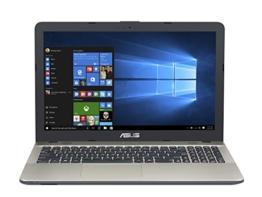 Asus F541NA-GQ052T 39,62 cm (15,6 Zoll matt) Notebook (Intel Pentium N4200, 8GB RAM, 128GB SSD, Intel HDGraphics, DVD-Laufwerk, Win 10 Home) schwarz - 1