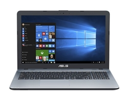 Asus F541NA-GQ054T 39,62 cm (15,6 Zoll matt) Notebook (Intel Pentium N4200, 8GB RAM, 1TB HDD, Intel HD Graphics, DVD-Laufwerk, Win 10 Home) silber - 1