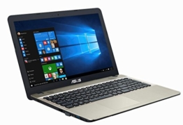 Asus F541SA-XO229T 39,62 cm (15,6 Zoll matt) Notebook (Intel Pentium QC N3710, 8GB RAM, 1TB HDD, DVD, Win 10) Chocolate Black - 1