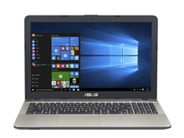 Asus F541UV-DM890T 39,62 cm (15,6 Zoll mattes FHD) Notebook (Intel Core i3-6006U, 8GB RAM, 256GB SSD, NVIDIA GeForce 920MX, DVD-Laufwerk, Win 10 Home) schwarz - 1
