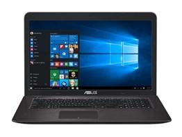 Asus F756UQ-TY145T 43,9 cm (17,3 Zoll) Notebook (Intel Core i5-7200U, 8GB RAM, 128GB SSD, 1TB HDD, NVIDIA GeForce 940MX, DVD-Laufwerk, Win 10 Home) dunkelbraun - 1