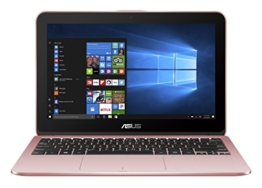 Asus VivoBook Flip 12  29,4 cm (11,6 Zoll Touch) 2-in-1 Notebook (Intel Pentium Quad-Core N4200, 4GB RAM, 1TB HDD, Intel HD Graphics, Win 10 Home) rose gold - 1
