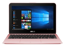 Asus VivoBook Flip 12 TP203NAH-BP055T 29,4 cm (11,6 Zoll Touch) 2-in-1 Notebook (Intel Celeron N3350, 4GB RAM, 1TB HDD, Intel HD Graphics, Win 10 Home) rosegold - 1