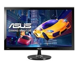 Asus VS278H 68,6 cm (27 Zoll) Monitor (Full HD, VGA, HDMI, 1ms Reaktionszeit) schwarz - 1
