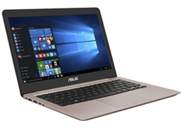 Asus Zenbook UX310UA-FC755T 33,7cm (13,3 Zoll mattes FHD) Notebook (Intel Core i5-7200U, 8GB RAM, 256GB SSD, Intel HD Graphics, Win10 Home) rose gold - 1