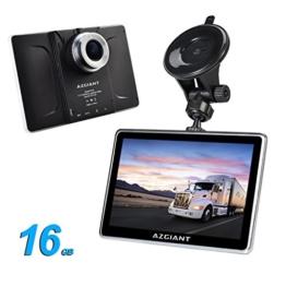 AZGIANT 7'' Zoll lkw PKW GPS Navigation,SAT NAV Navigationsgerät,Multifunktional DVR Tablet,lebenslange Kartenupdates,Android 16GB - 1