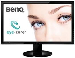 BenQ GL2450 61 cm (24 Zoll) Monitor (DVID, VGA, 5ms Reaktionszeit) schwarz - 1