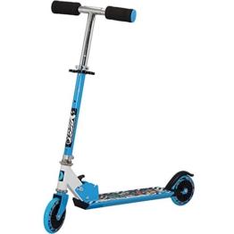 Best Sport Kinder Scooter Mit Abec-5 73-83 Cm Scooter, blau/weiß, M, 2307275 - 1
