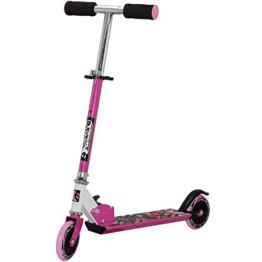 Best Sport Mädchen Scooter Mit Abec-5 73-83 Cm Scooter, pink/schwarz, M, 2307285 - 1