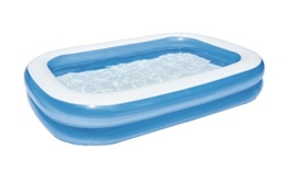 Bestway Family Pool Blue Rectangular, 262x175x51 cm - 1
