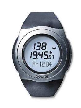 Beurer PM 25 Pulsuhr, mit Brustgurt, Trainingsbereich, Kalorienverbrauch, Fettverbrennung - 1