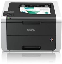 Brother HL-3152CDW High-Speed Duplex-Farbdrucker (LAN/WLAN) weiß/dunkelgrau - 1