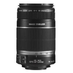 Canon EF-S 55-250 mm  4,0-5,6 IS Objektiv (58 mm Filtergewinde, bildstabilisiert, Original Handelsverpackung) - 1