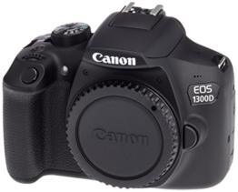 Canon EOS 1300D BLK BODY Spiegelreflexkamera schwarz - 1