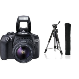 Canon EOS 1300D Digital SLR Camera + Hama Fotostativ Action 165 3D, anthrazit - 1