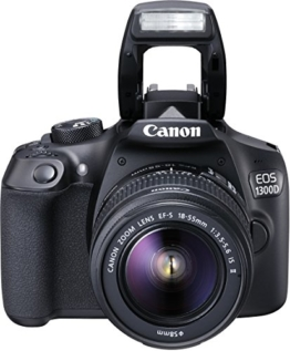 Canon EOS 1300D Digitale Spiegelreflexkamera (18 Megapixel, APS-C CMOS-Sensor, WLAN mit NFC, Full-HD) - 1