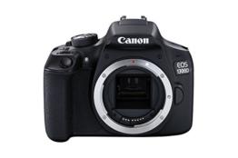 Canon EOS 1300D DSLR-Kamera mit EF-– 55DC III F3.5–5.6-Objektiv - 1