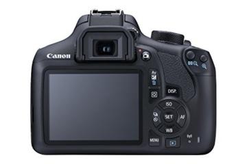 Canon EOS 1300D DSLR-Kamera mit EF-– 55DC III F3.5–5.6-Objektiv - 2