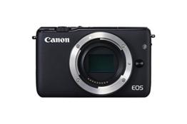 Canon EOS M10 Systemkamera (18 Megapixel, 7,5 cm (3 Zoll) Display, STM, WLAN, NFC, 1080p, Full HD) nur Gehäuse schwarz - 1