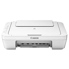Canon Pixma MG3051 Farbtintenstrahl-Multifunktionsgerät (Drucker, Scanner, Kopierer, USB, WLAN, Pixma Cloud-Link) weiß - 1