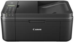 Canon Pixma MX495 Farbtintenstrahl-Multifunktionsgerät (Scanner, Kopierer, Drucker, Fax, WiFi, 4800 x 1200 dpi) schwarz - 1