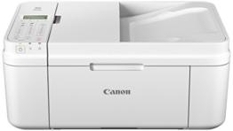 Canon Pixma MX495 Multifunktionsgerät (WiFi, Scanner, Kopierer, Drucker, Fax, 4,800 x 1,200 dpi) weiß - 1