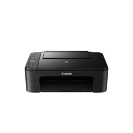 Canon PIXMA TS3150 Farbtintenstrahl-Multifunktionsgerät (Drucken, Scannen, Kopieren, 3,8 cm LCD Anzeige, WLAN, Print App, 4.800 x 1.200 dpi) schwarz - 1